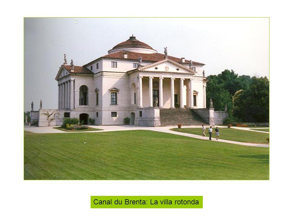 Canal du Brenta: La villa rotonda