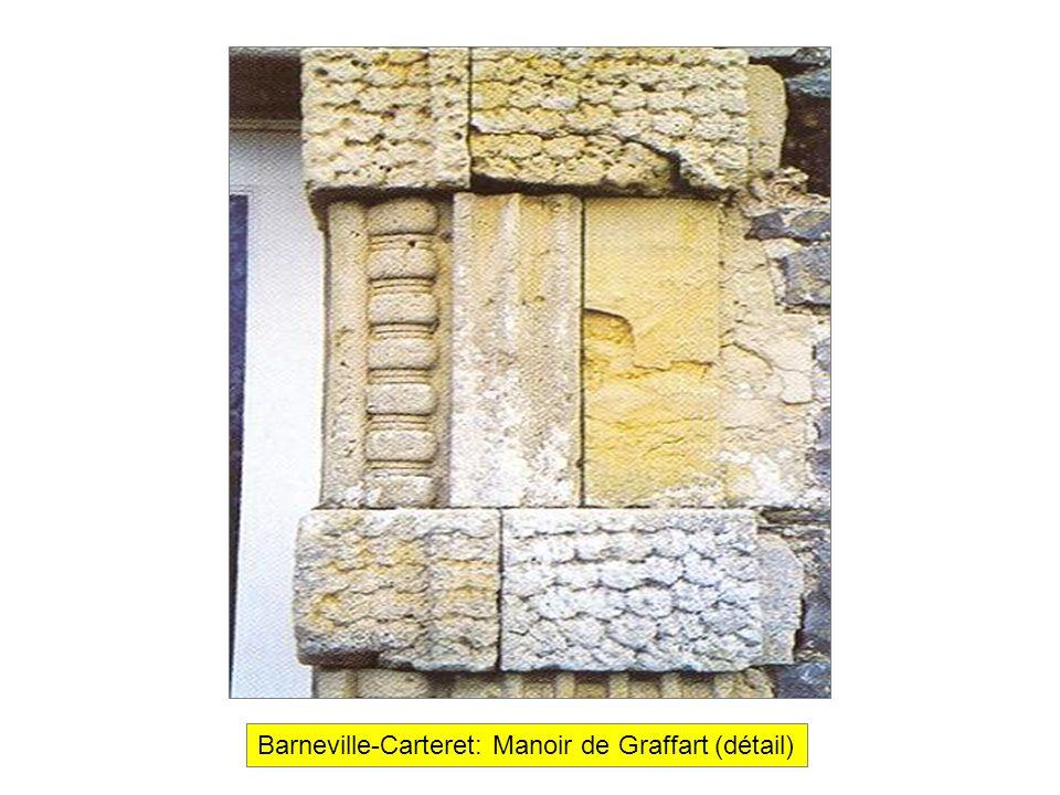 Barneville-Carteret: Manoir de Graffart (détail)