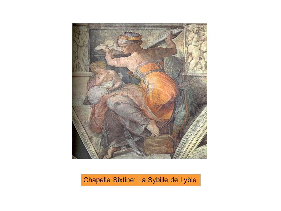 Chapelle Sixtine: La Sybille de Lybie