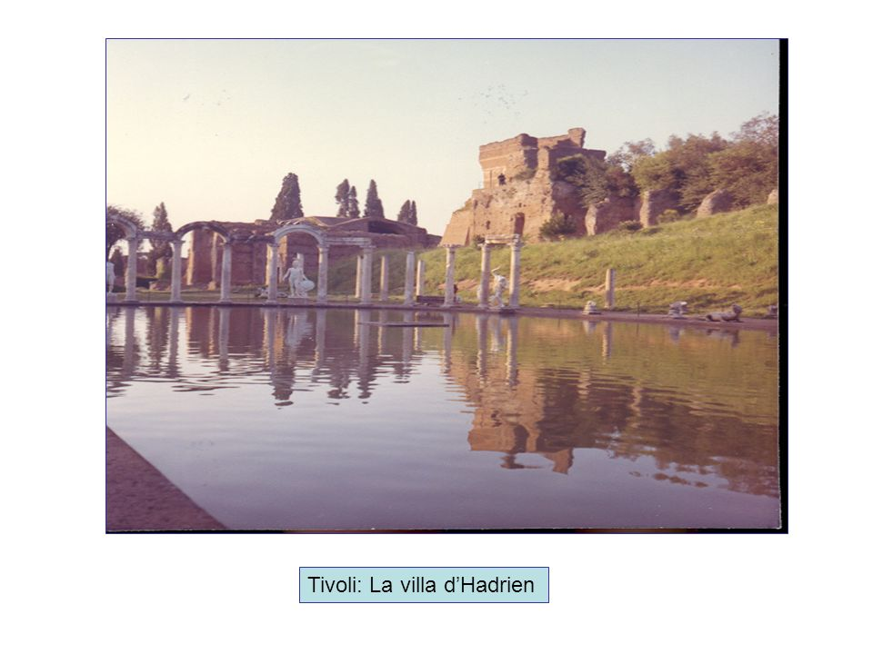 Tivoli: La villa dHadrien
