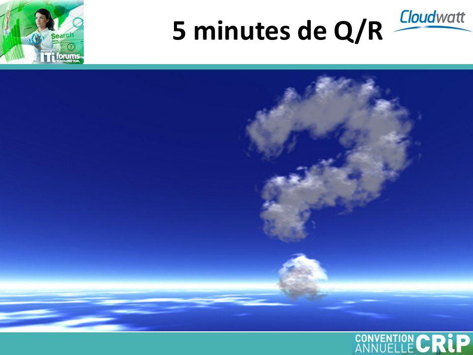 5 minutes de Q/R