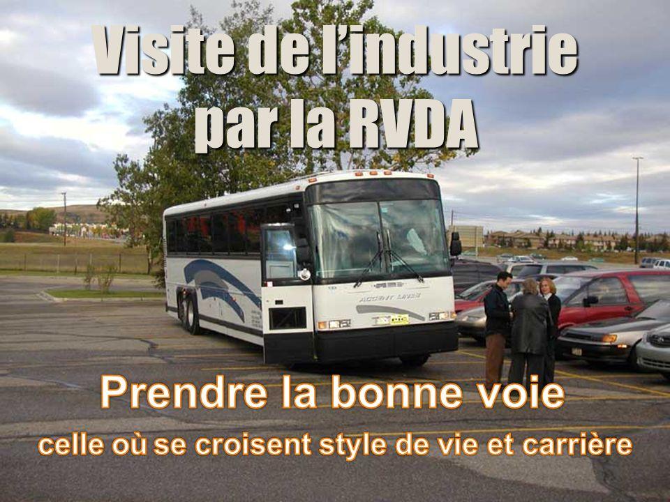 Visite de lindustrie par la RVDA