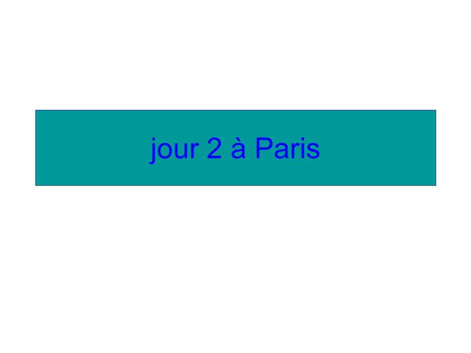 jour 2 à Paris
