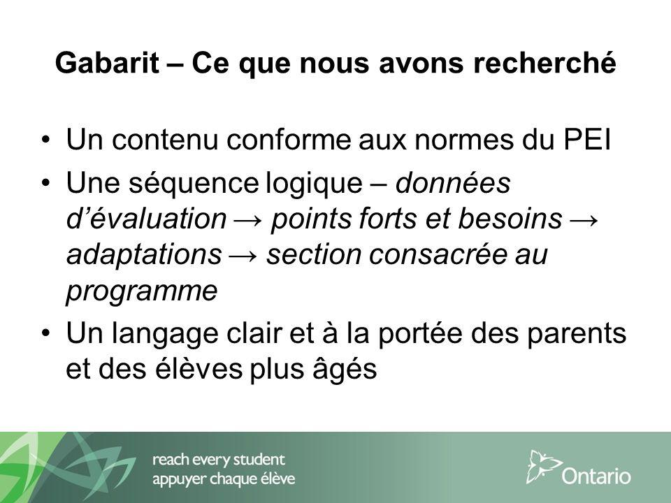 Sites Web utiles Ministère de lÉducation de lOntario, éducation de lenfance en difficulté http://www.edu.gov.on.ca/eng/general/elemsec/speced/speced.