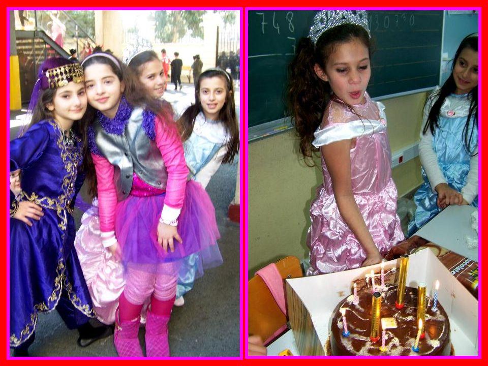 Nous avons fêté le Carnaval dans la cour de lécole avec toutes les autres classes de CE2, CM1 et CM2.
