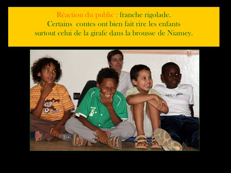 CONTES ET MUSIQUE DU NIGER pour les CE2 Sebastien, Tonton Ado et Jean-Louis nous ont offert un spectacle de contes du Niger en musique. Nous avons déc