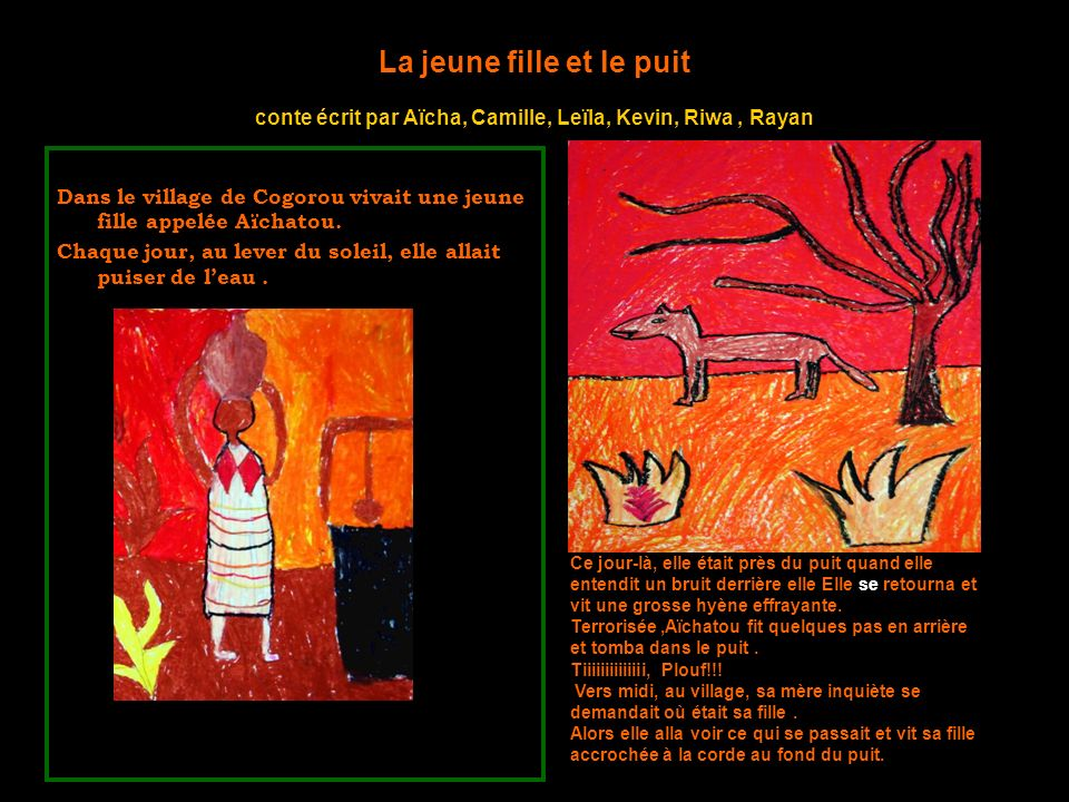 Les contes et les illustrations des enfants Suite au spectacle, Sébastien et Tonton Ado sont venus dans la classe pour animer des ateliers décriture.