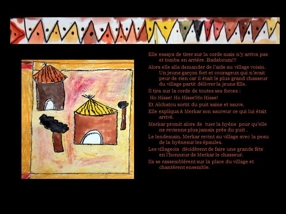 La jeune fille et le puit conte écrit par Aïcha, Camille, Leïla, Kevin, Riwa, Rayan Dans le village de Cogorou vivait une jeune fille appelée Aïchatou.