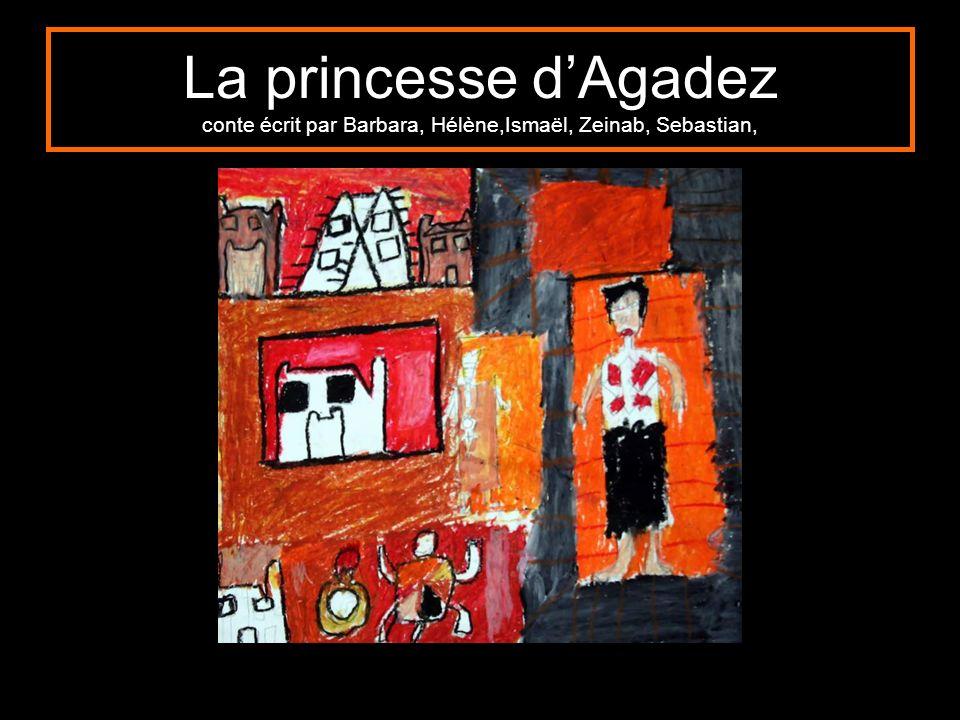 La princesse dAgadez conte écrit par Barbara, Hélène,Ismaël, Zeinab, Sebastian,