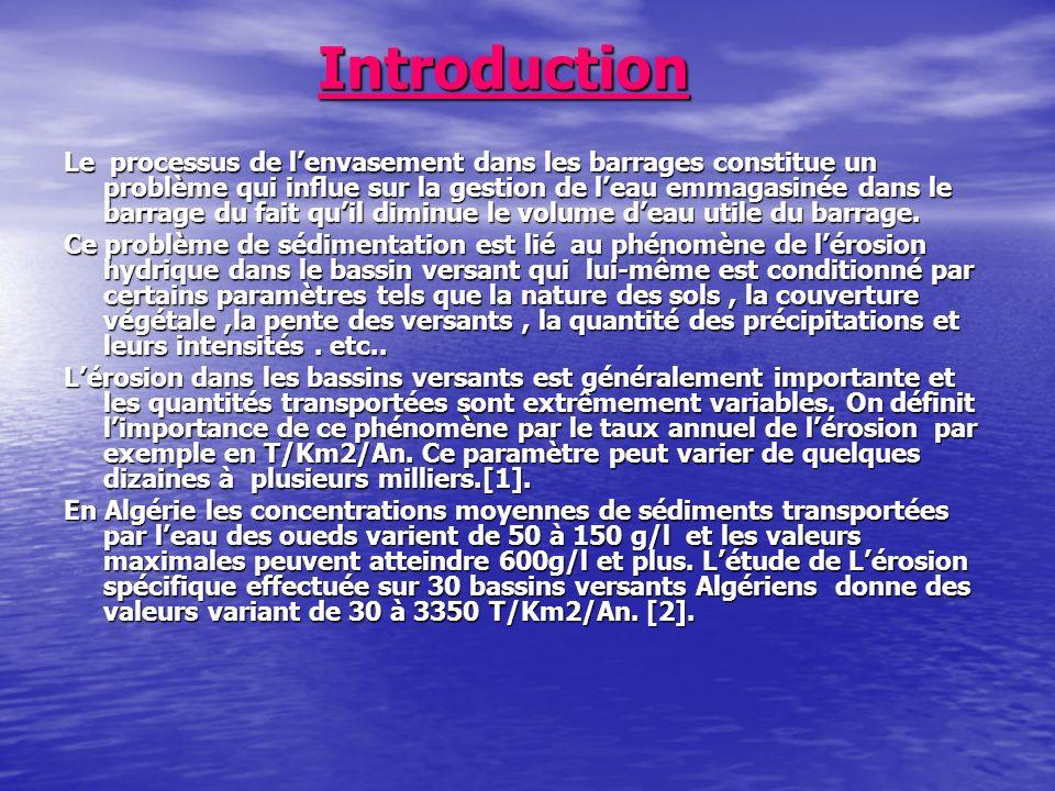 Références Berthier, A.(1973) Quelques problèmes posés par la création de barrages sur une rivière transportant des débits solides.
