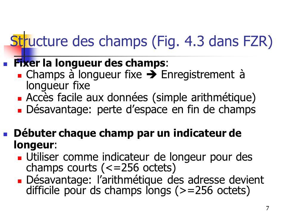 7 Structure des champs (Fig.