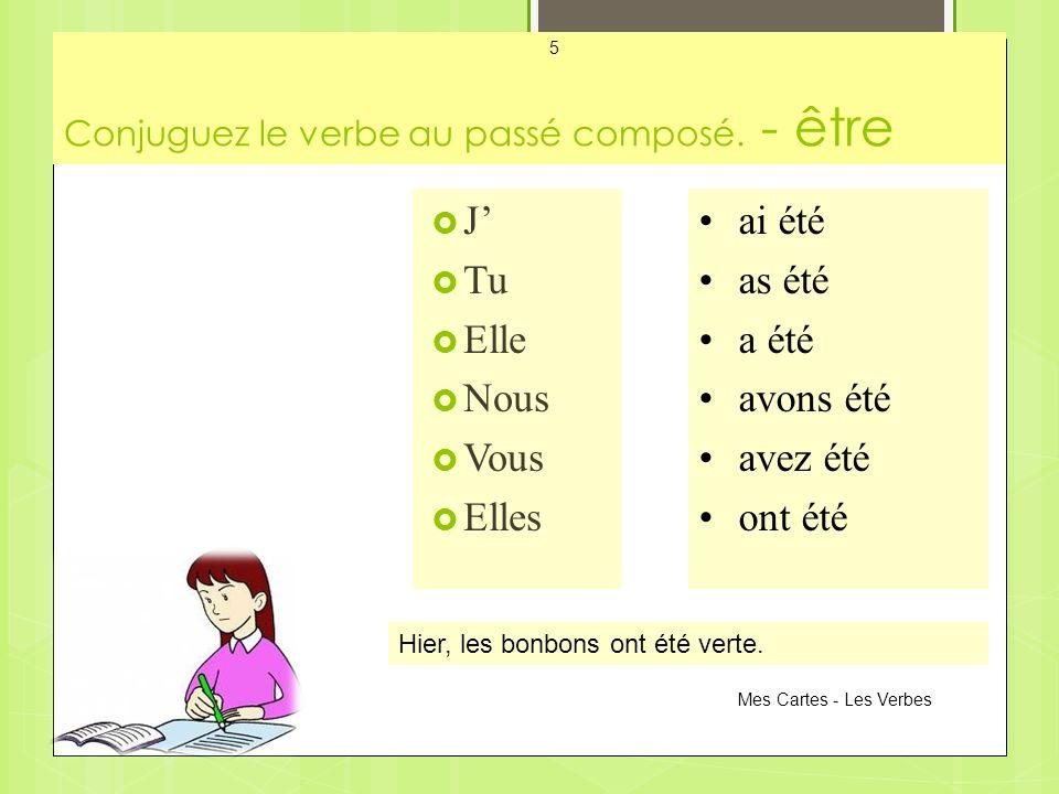 Conjuguez le verbe au passé composé.