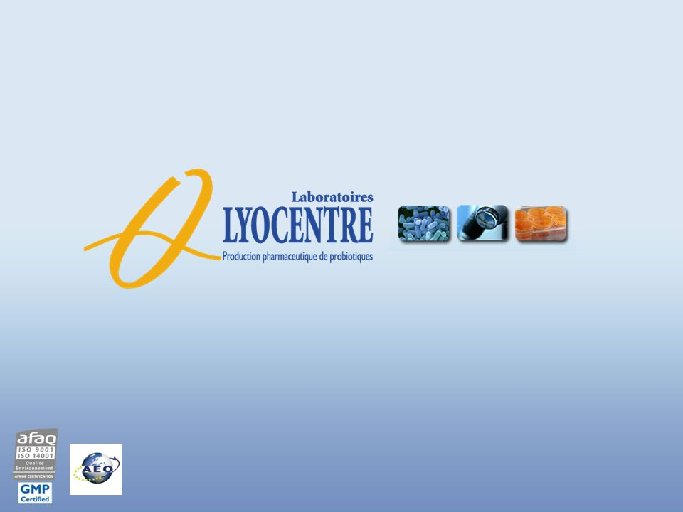 Les effectifs Au 31-01-2012 : PROBIONOV Laboratoires LYOCENTRE Environ 85 salariés Nb : Laboratoires LYOCENTRE et PROBIONOV sont regroupés au sein dune Unité Economique et Sociale depuis le 01/06/2011 13
