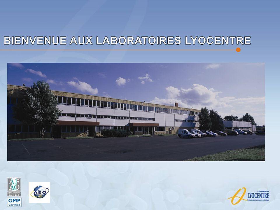Les Laboratoires LYOCENTRE en chiffres Notre chiffre daffaires est de 6,500 millions dEuros pour 2011 pour chacune des Entités.