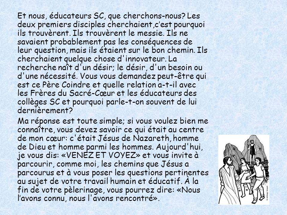 LA DEUXIÈME ANNÉE THÈME: LE DÉVELOPPEMENT DU CHARISME DU P.