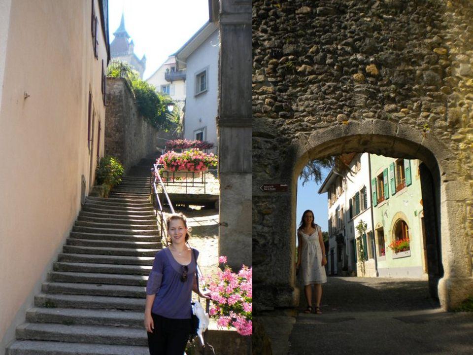 TOUR DE LA TRAHISON Le château dEstavayer