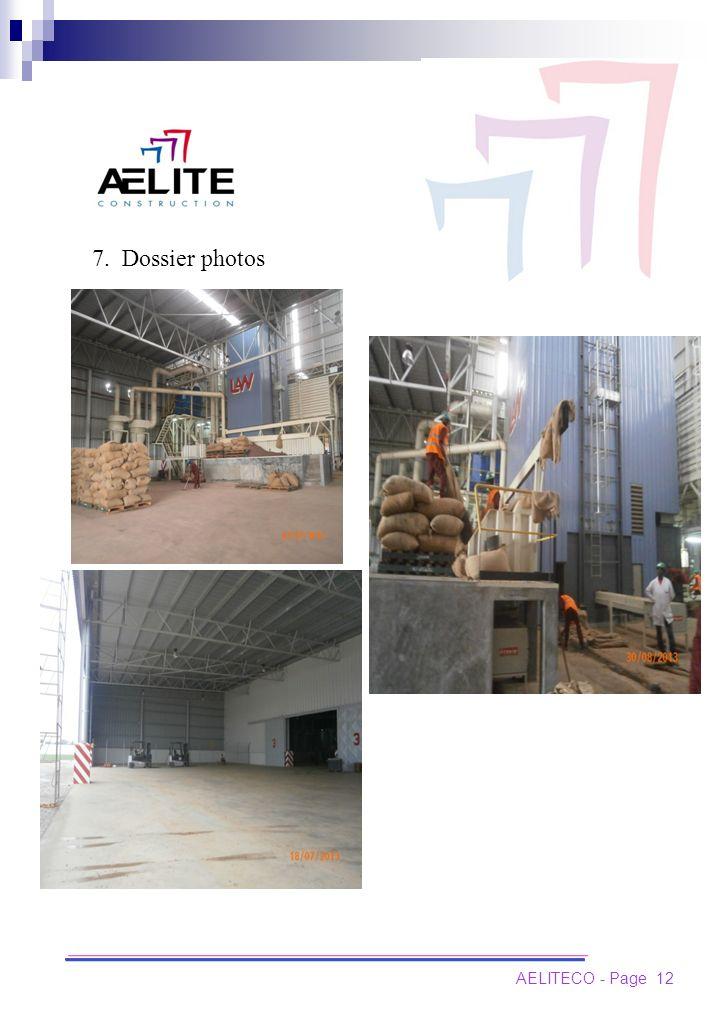 AELITECO - Page 12 7. Dossier photos