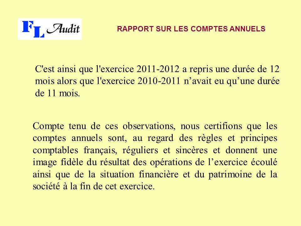 2 – JUSTIFICATION DES APPRECIATIONS En application des dispositions de l article L.