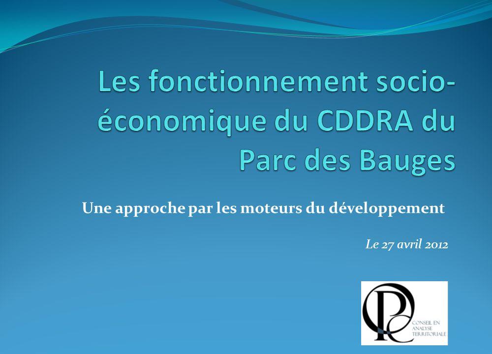 Une approche par les moteurs du développement Le 27 avril 2012