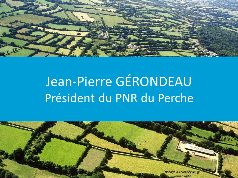 Jean-Pierre GÉRONDEAU Président du PNR du Perche Bocage à Teurthéville @ Roméo India