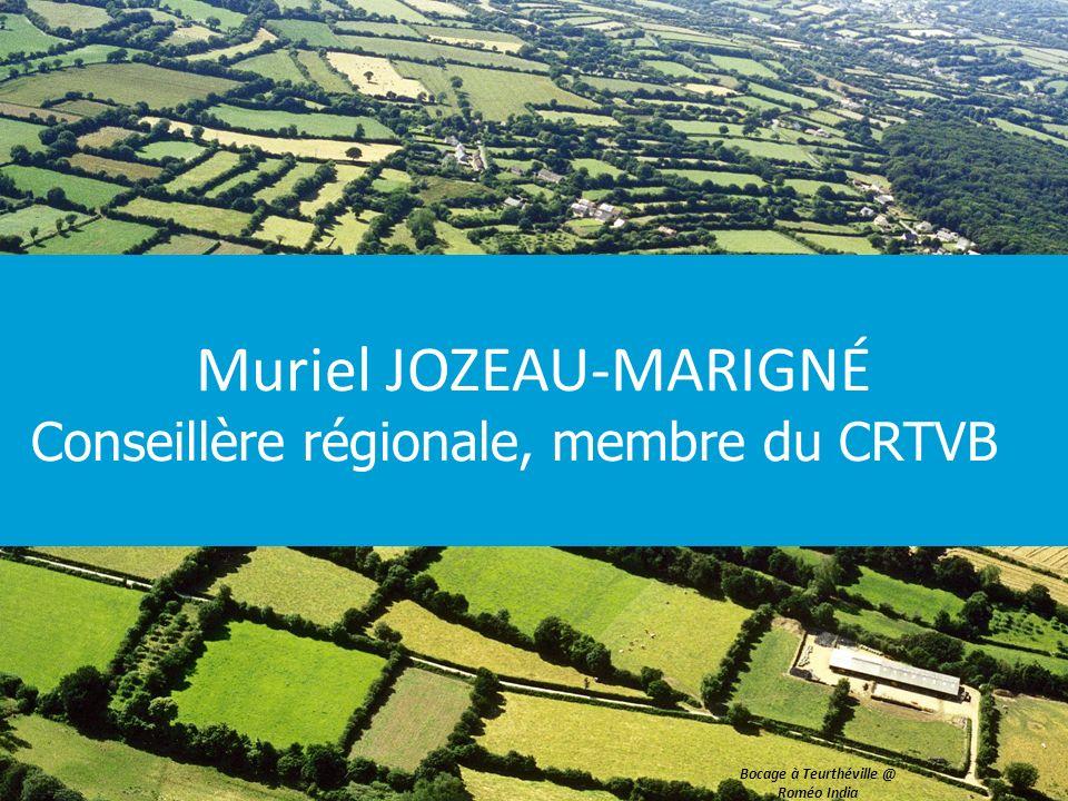 Muriel JOZEAU-MARIGNÉ Conseillère régionale, membre du CRTVB Bocage à Teurthéville @ Roméo India