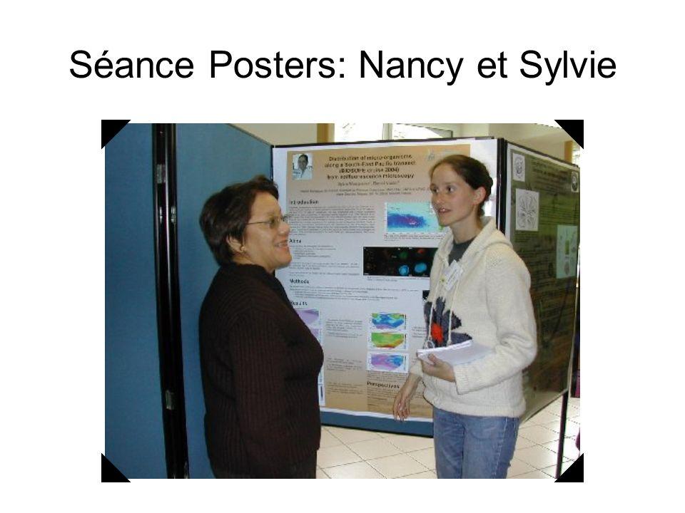 Séance Posters: Nancy et Sylvie