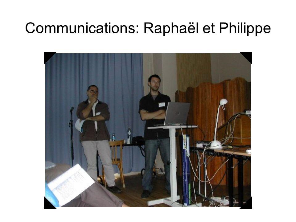 Communications: Geneviève et Philippe