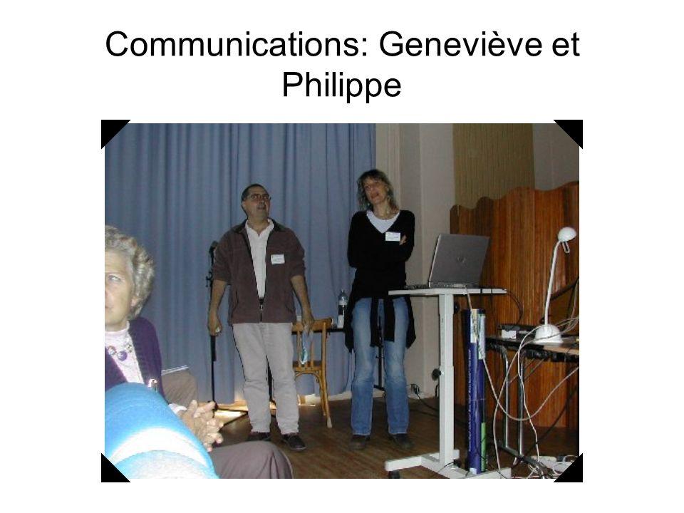 Communications:Raghida et Philippe