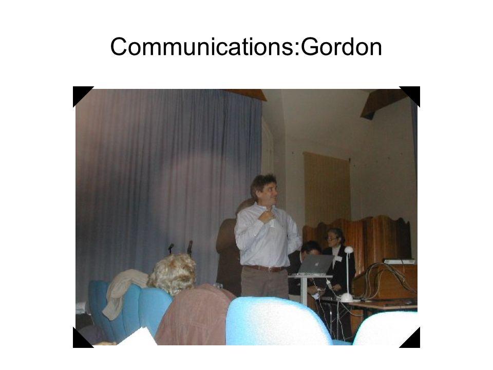 Communications: Daniel, Anne et Michèle