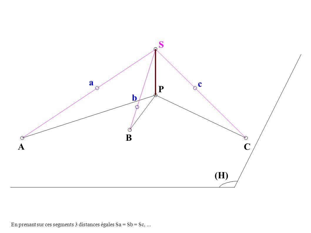 A B C P S c b c (H) (I) Y X b a a ...SBP...