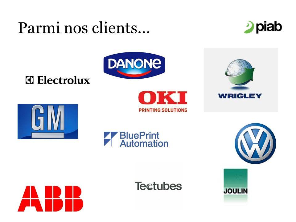 Parmi nos clients...