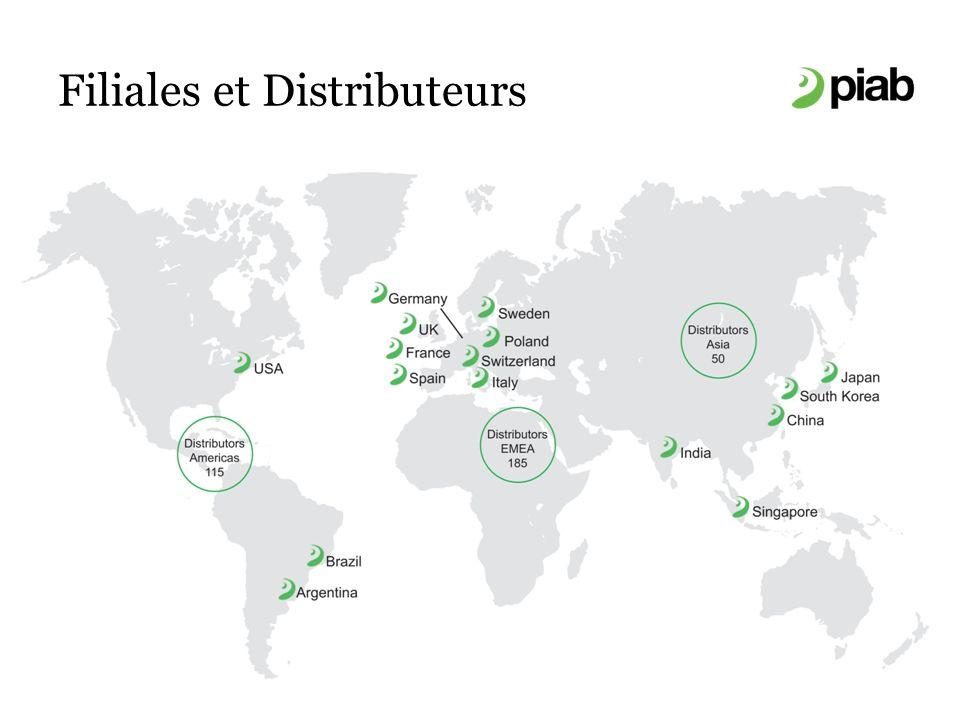 Filiales et Distributeurs