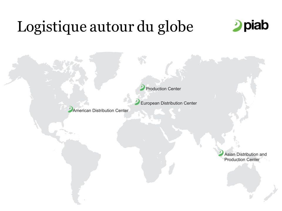 Logistique autour du globe