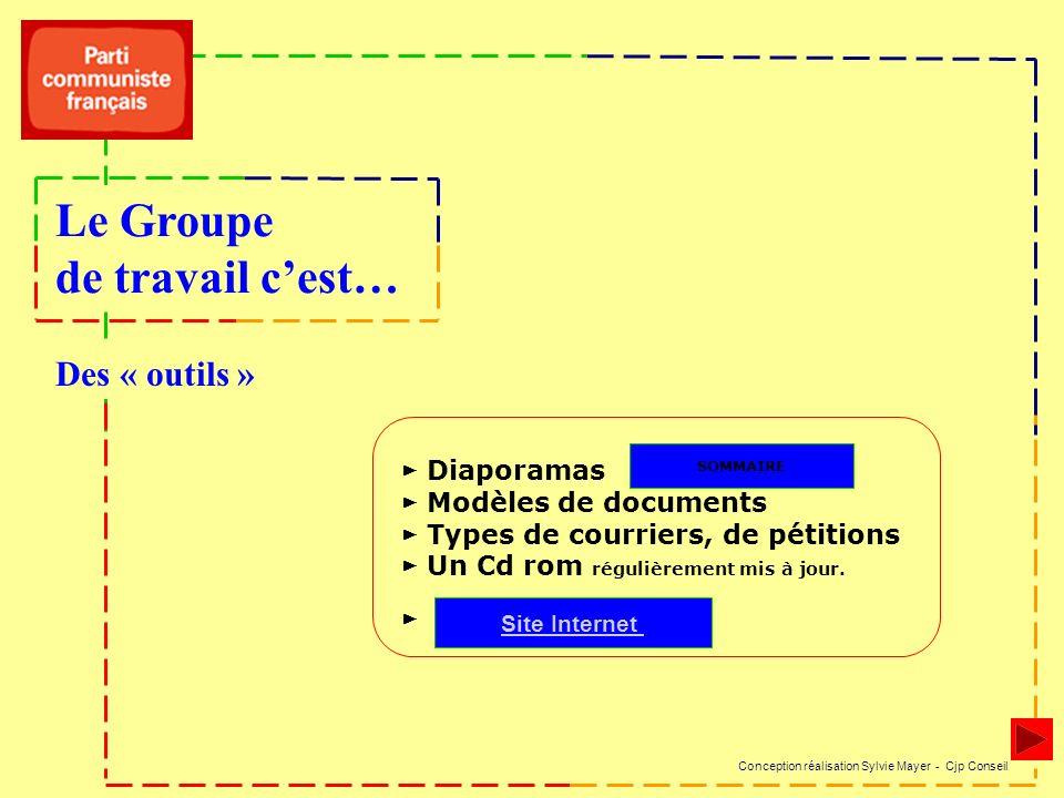 Diaporamas Modèles de documents Types de courriers, de pétitions Un Cd rom régulièrement mis à jour.