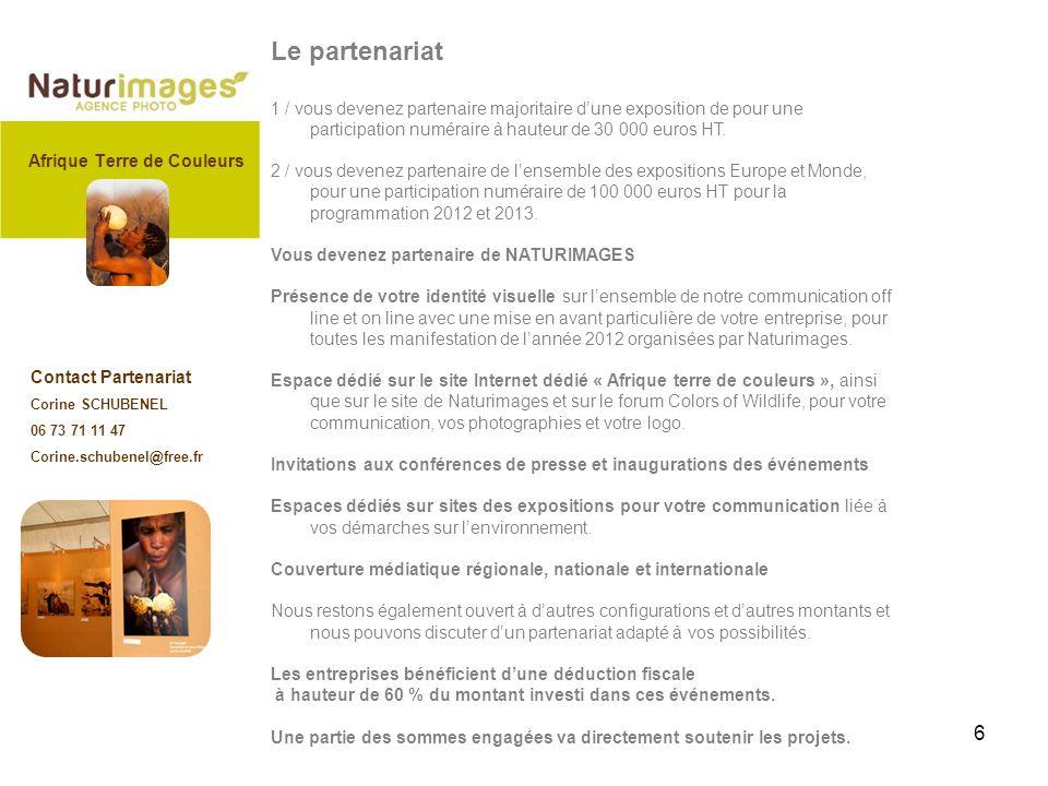 6 Le partenariat 1 / vous devenez partenaire majoritaire dune exposition de pour une participation numéraire à hauteur de 30 000 euros HT.