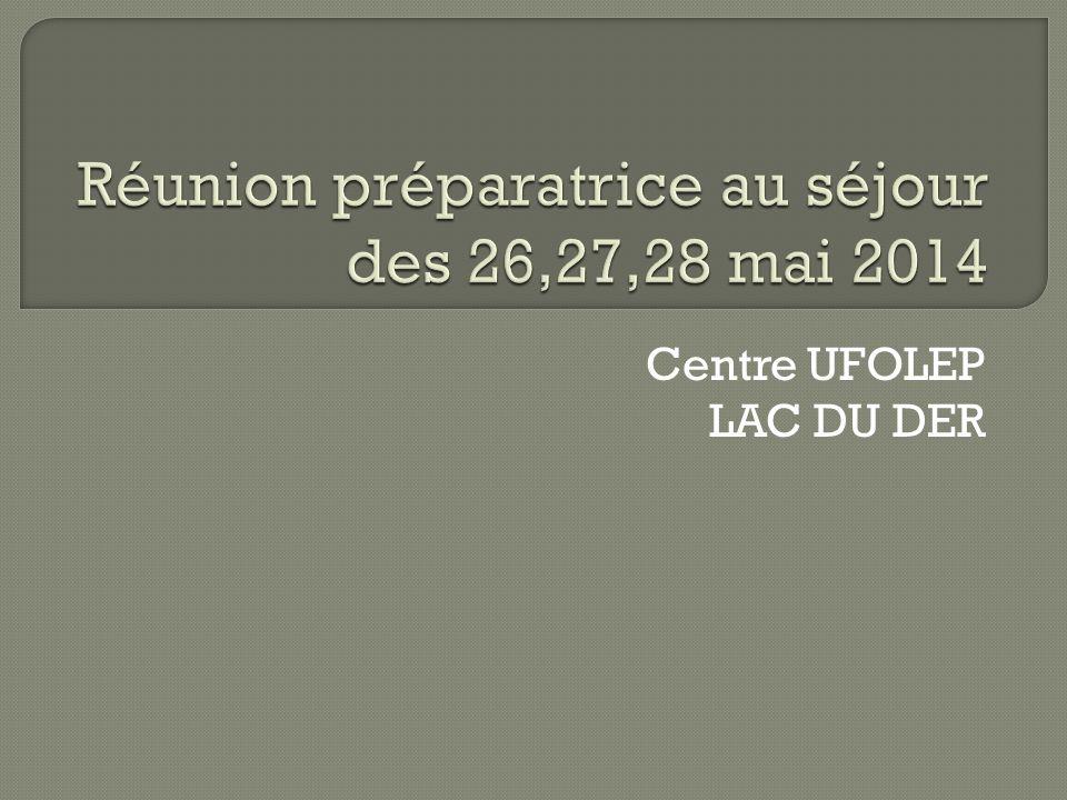 Centre UFOLEP LAC DU DER
