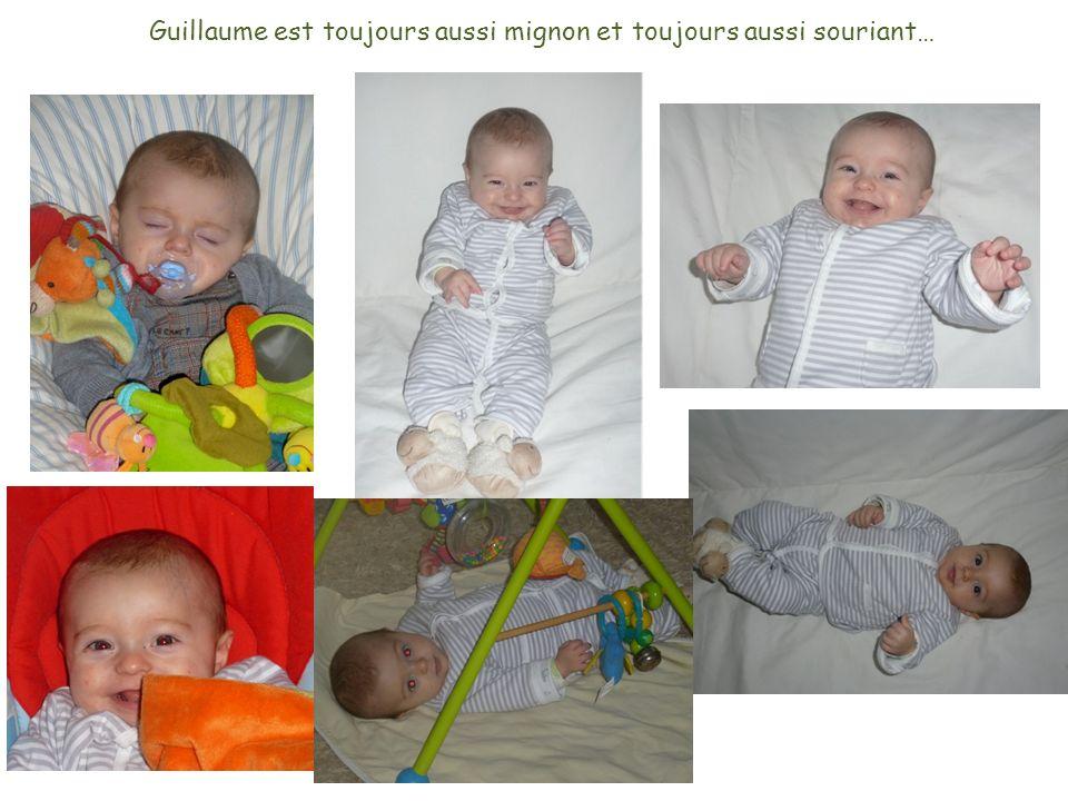 Guillaume est toujours aussi mignon et toujours aussi souriant…