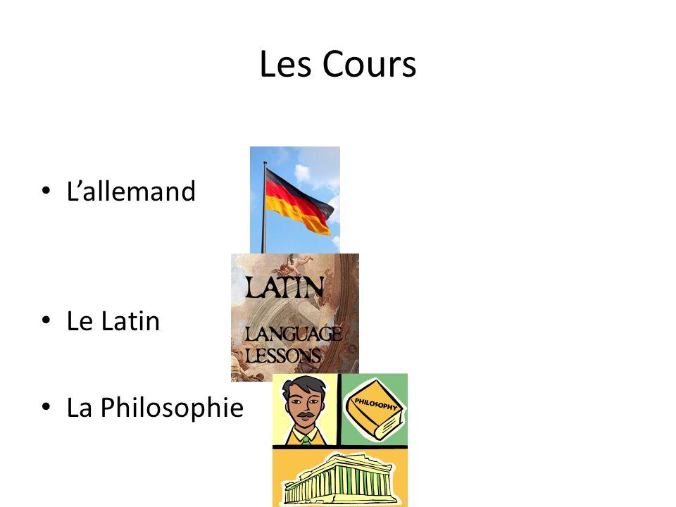 Les Cours Lallemand Le Latin La Philosophie