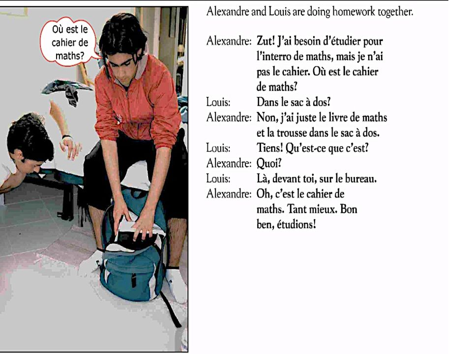 Examples of Subtracting minutes Il est cinq heures moins sept.