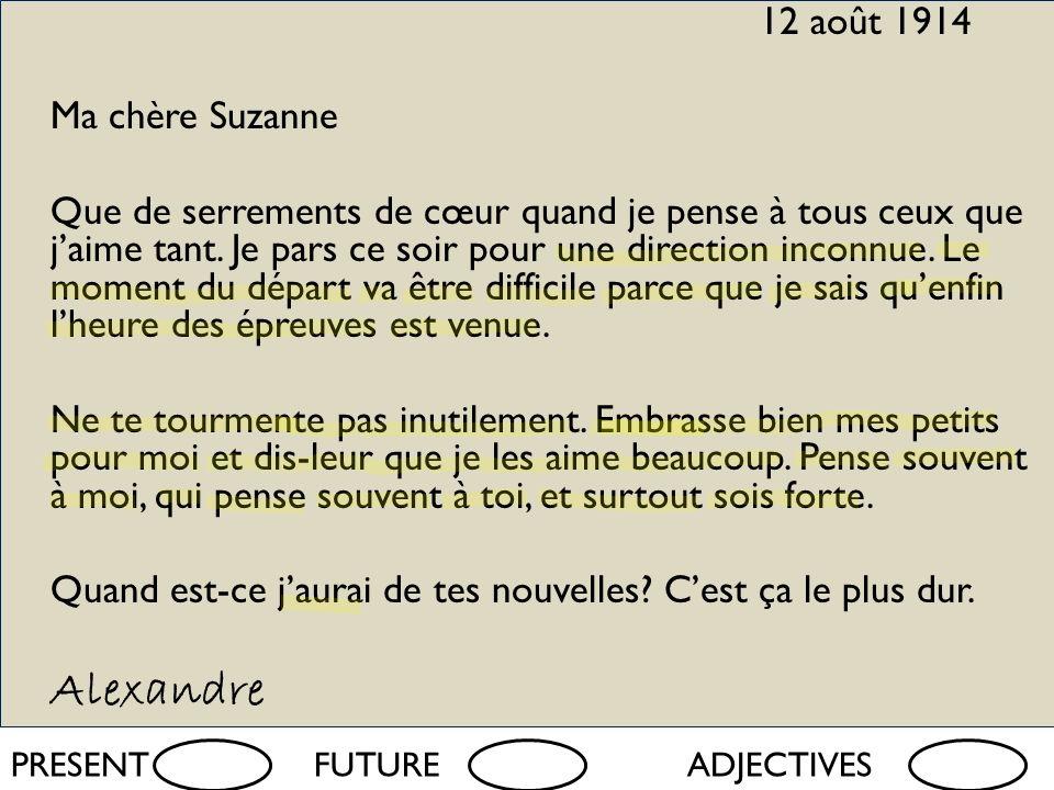 mardi quatre (4) juin 2013 Quelle était lexpérience dAlexandre Jacqueau de la grande guerre.