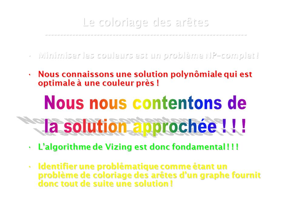 30 mars 2007Cours de graphes 9 - Intranet35 Variantes de problèmes de flot ----------------------------------------------------------------- Multi-commodity Flow Problem !Multi-commodity Flow Problem .