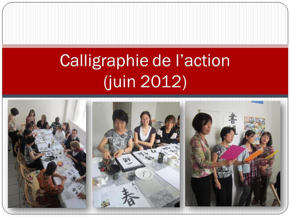 Calligraphie de laction (juin 2012)