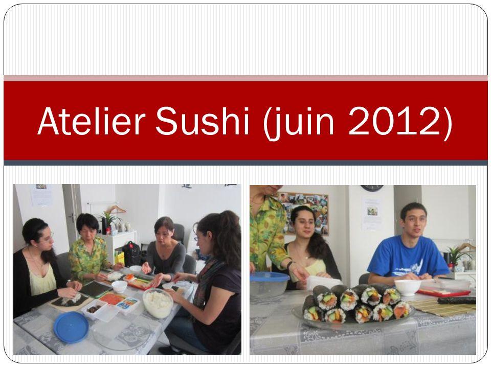 Atelier Sushi (juin 2012)