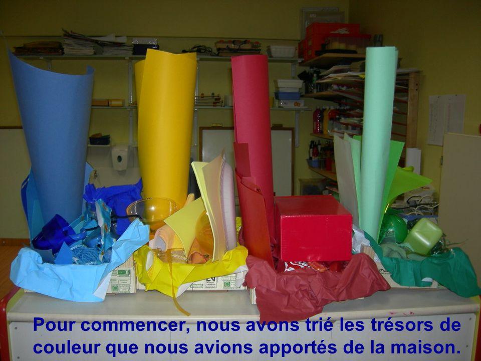 Un projet : réaliser un livre autour des couleurs avec les enfants de Petite Section Ecole St Marceau Orléans Enseignante : Annie Pinsard