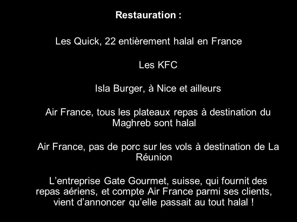 Auchan (Nogent sur Oise, Bagnolet…) Carrefour (Montreuil…) Centre Leclerc de Montataire (Oise) Cora (près de Creil et ailleurs ) Hal shop de Nanterre,