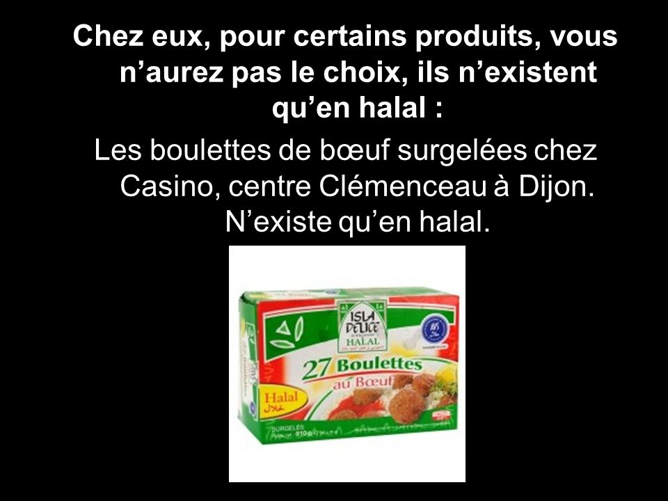 Ils acceptent la publicité halal : Le journal Métro… gratuit mais en fait vous financez le halal en le lisant, en permettant quil se développe puisque