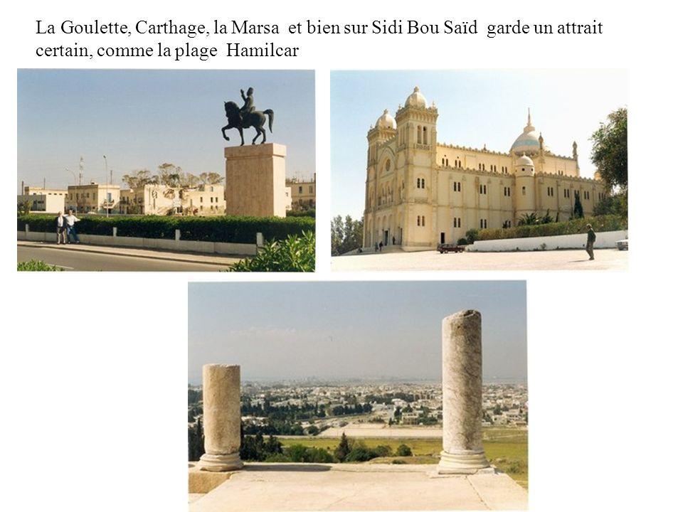 Tunis, avec son avenue principale Habib Bourguiba est pleine de vie. Son belvédère reste sous exploité, nous avons une belle vue sur Tunis et la régio