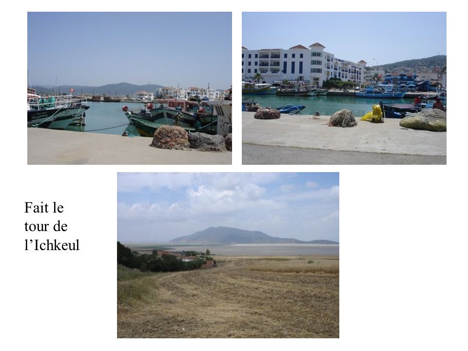 A partir de Bizerte, nous sommes allés à Tabarka, Aïn Draham très prés de la frontière algérienne ( malgré le « déconseille » du Ministère des affaire