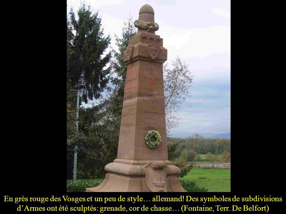 … ou avec une palme (St Geyrac, Dordogne)