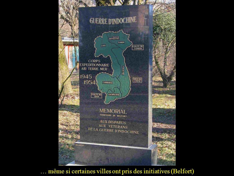Il aura fallu attendre bien longtemps pour que nos tués d'Indochine aient leur monument… (nécropole nationale de Fréjus)